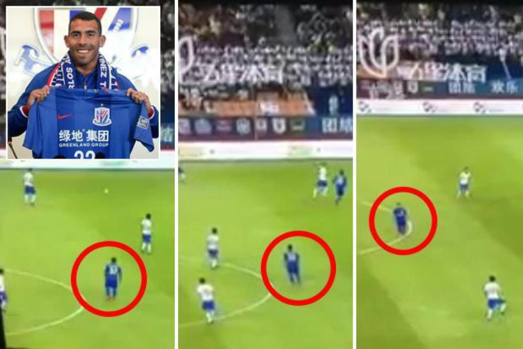 Carlos Tevez slammed for his work-rate in recent match despite earning £634,000-a-week