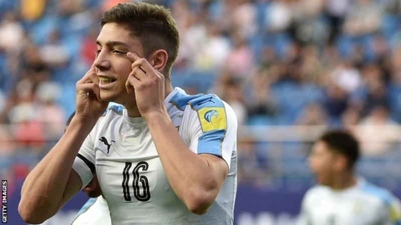 FIFA investigate Real Madrid midfielder Federico Valverde and Uruguay U20 national team over racist celebration