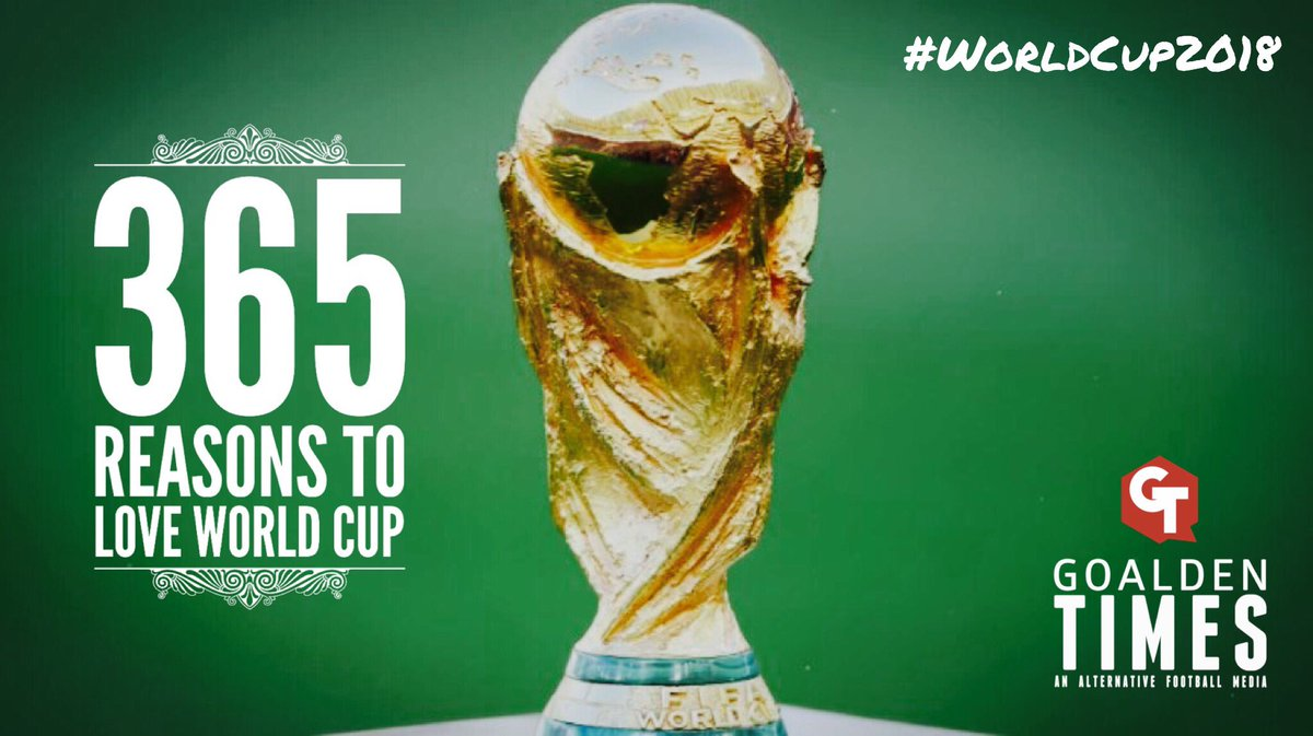 WorldCup2018 is exactly 365 days away here is a mini series on quirky, nostalgic unorthodox side of World Cup