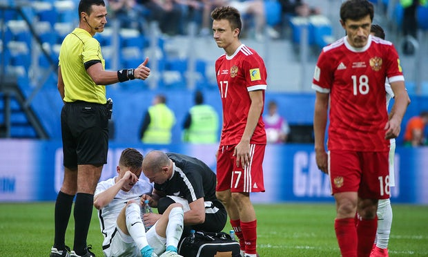 One rule change being tested at the Confederations Cup is only captains being allowed to talk to the referee during the game
