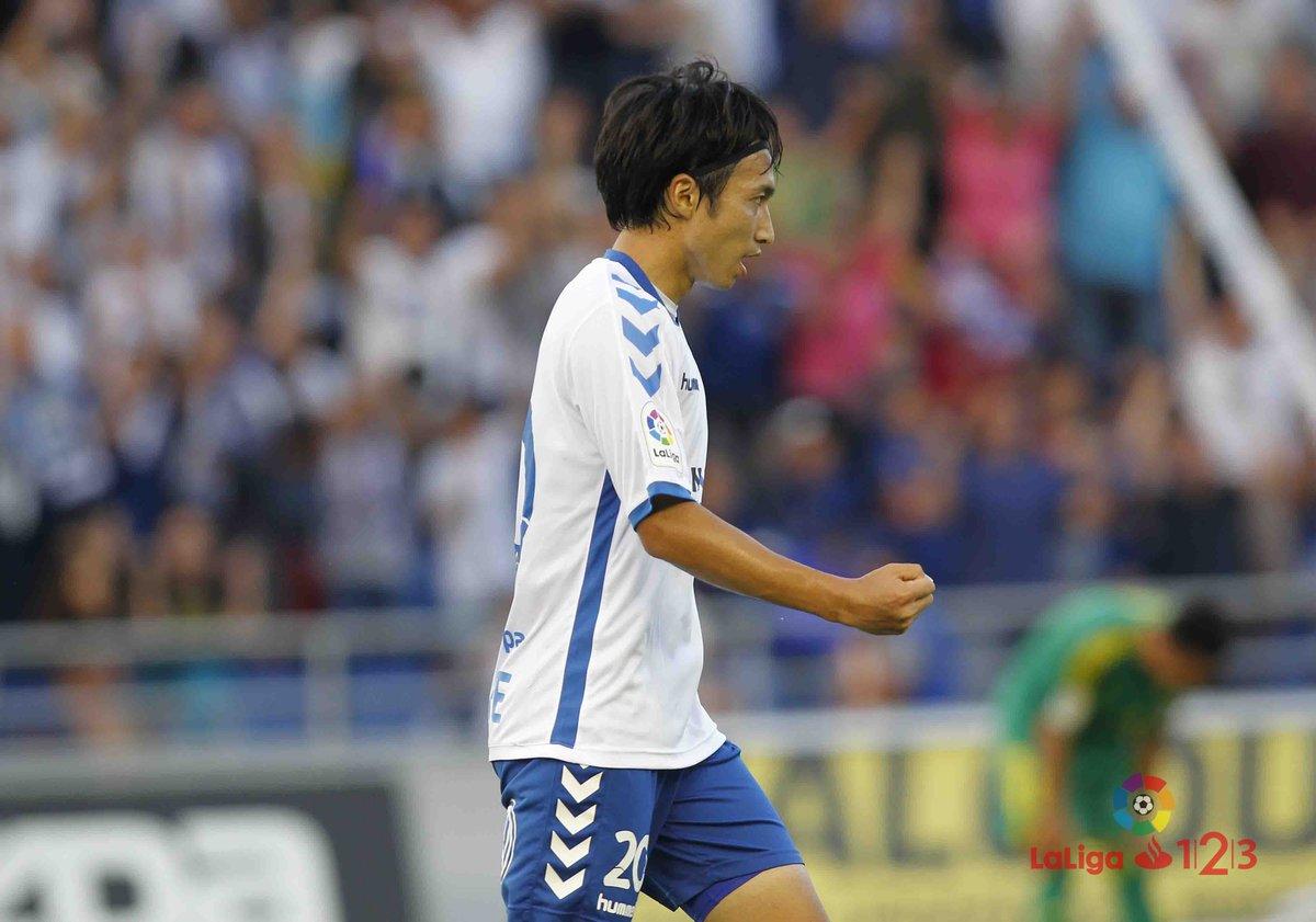 Shibasaki mete al Tenerife en la final