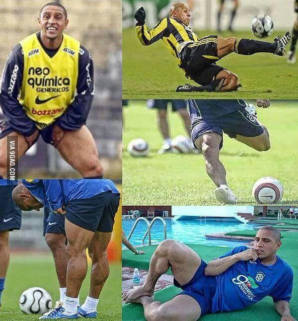 Roberto Carlos never skipped leg day