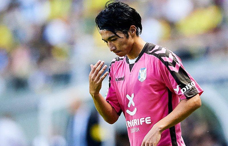 shibasaki gaku assist Getafe 3-1 TenerifePo
