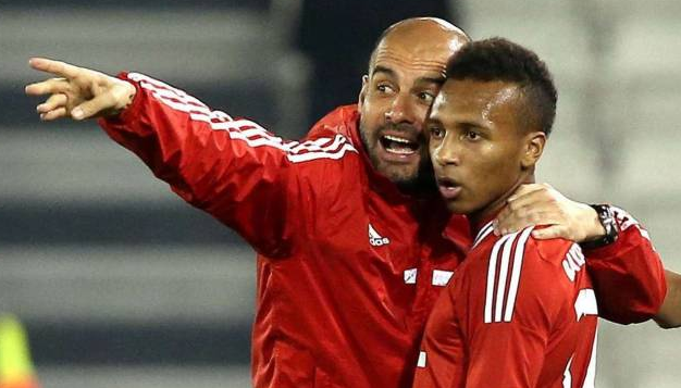 US prodigy Julian Green on tour with Bayern Munich