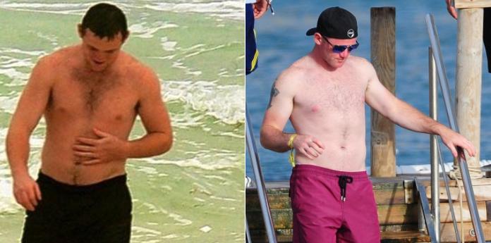 Rooney in 2007 vs Rooney in 2017