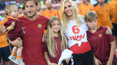 totti and Ilary Blasi