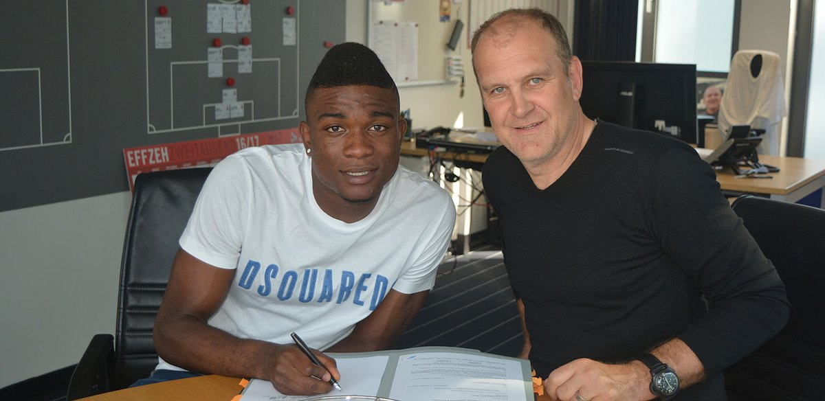FC Köln have signed 24-year-old Jhon Cordoba from FSV Mainz on a contract that will see him at the club until 2021