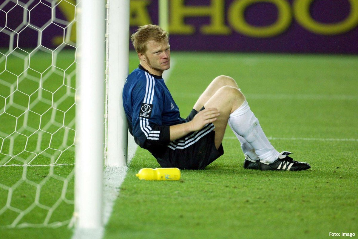 Oliver Kahn 15 years ago A hard day to be a goalkeeper