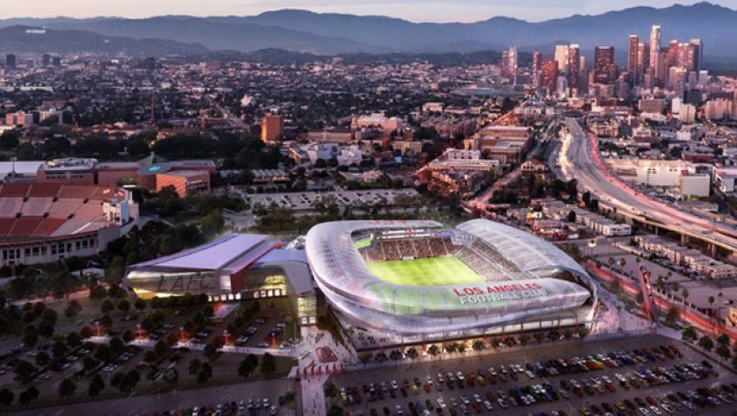 Los Angeles Football Club (LAFC) stadium renderings