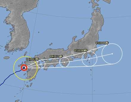 台風3号-6