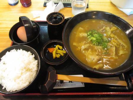 黒豚カレー定食