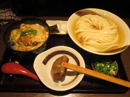 ひやかけ+ミニカツ丼