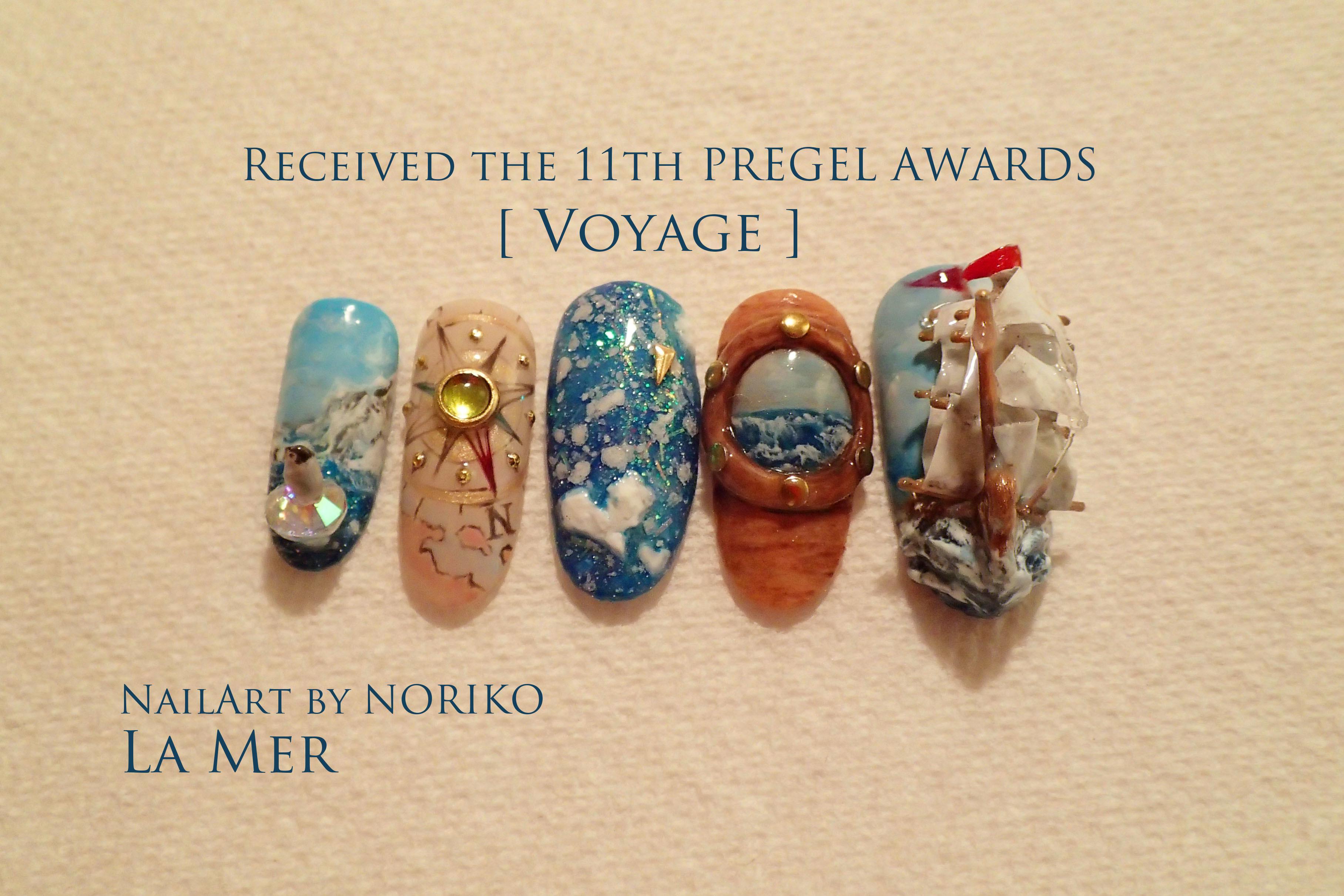Pregel Award_6 第11回プリジェルアワード受賞アート Nail Artist : NORIKO/ 典子
