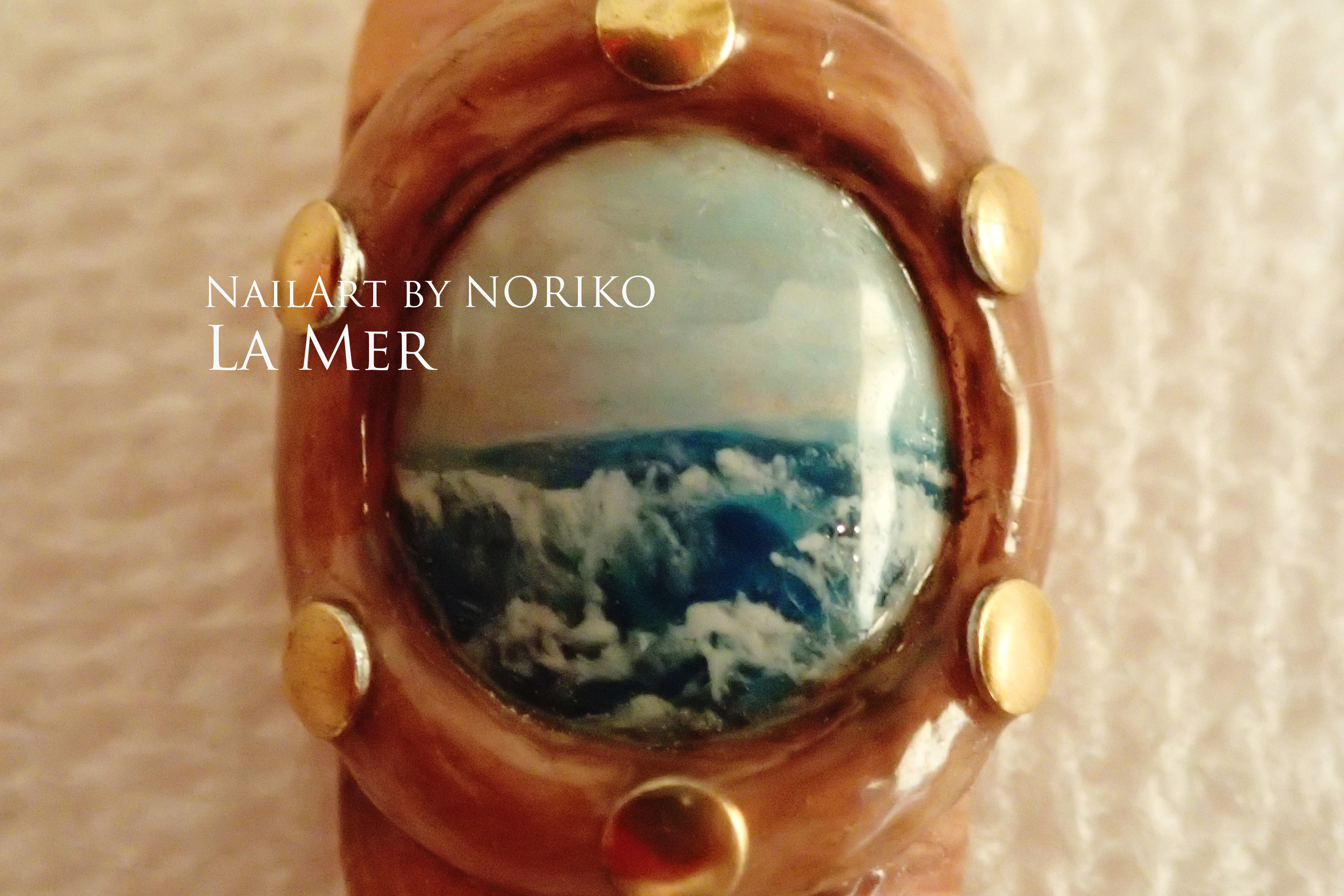 Pregel Award_7 海 第11回プリジェルアワード受賞アート Nail Artist