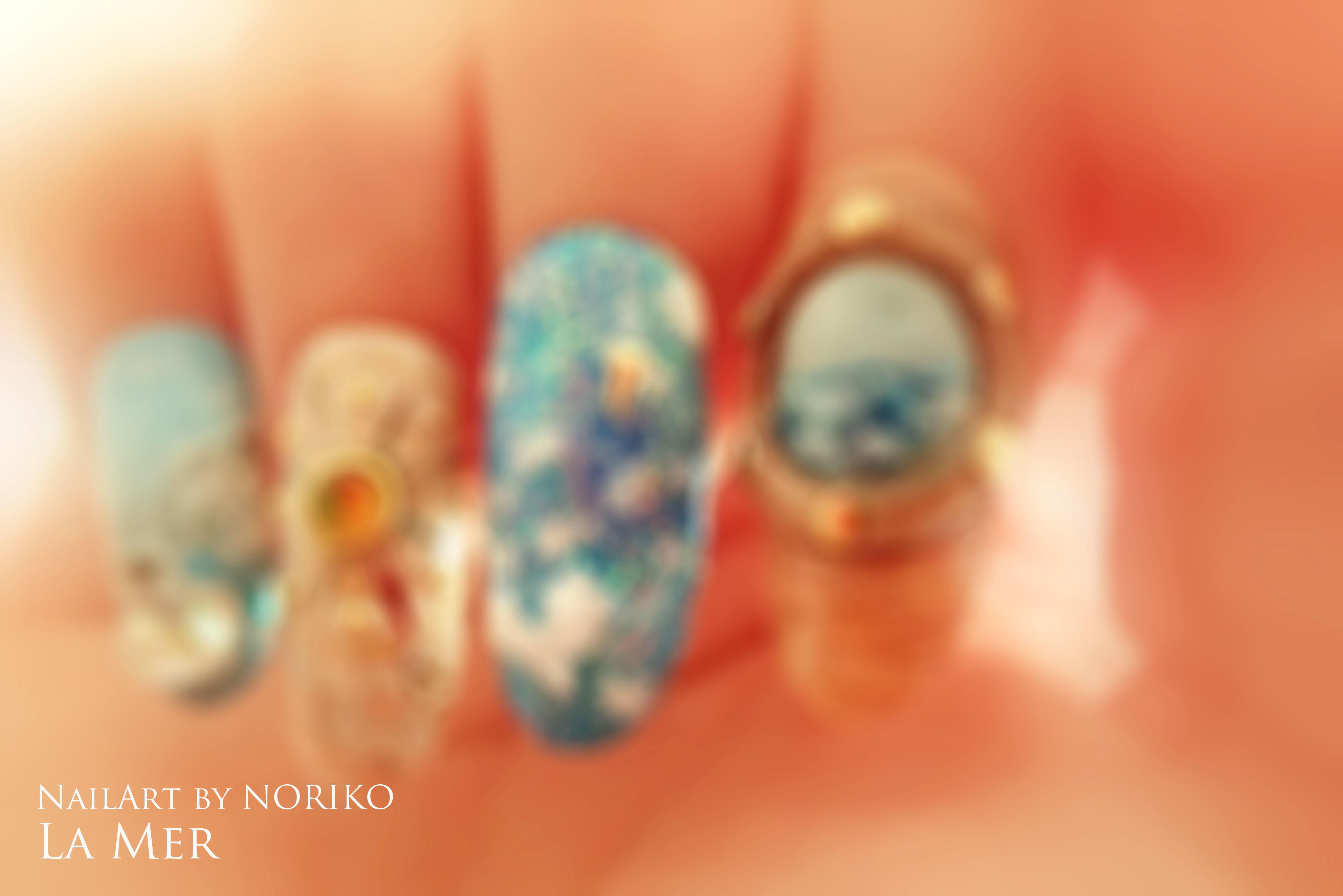 Pregel Award_8 第11回プリジェルアワード受賞アート Nail Artist : NORIKO/ 典子