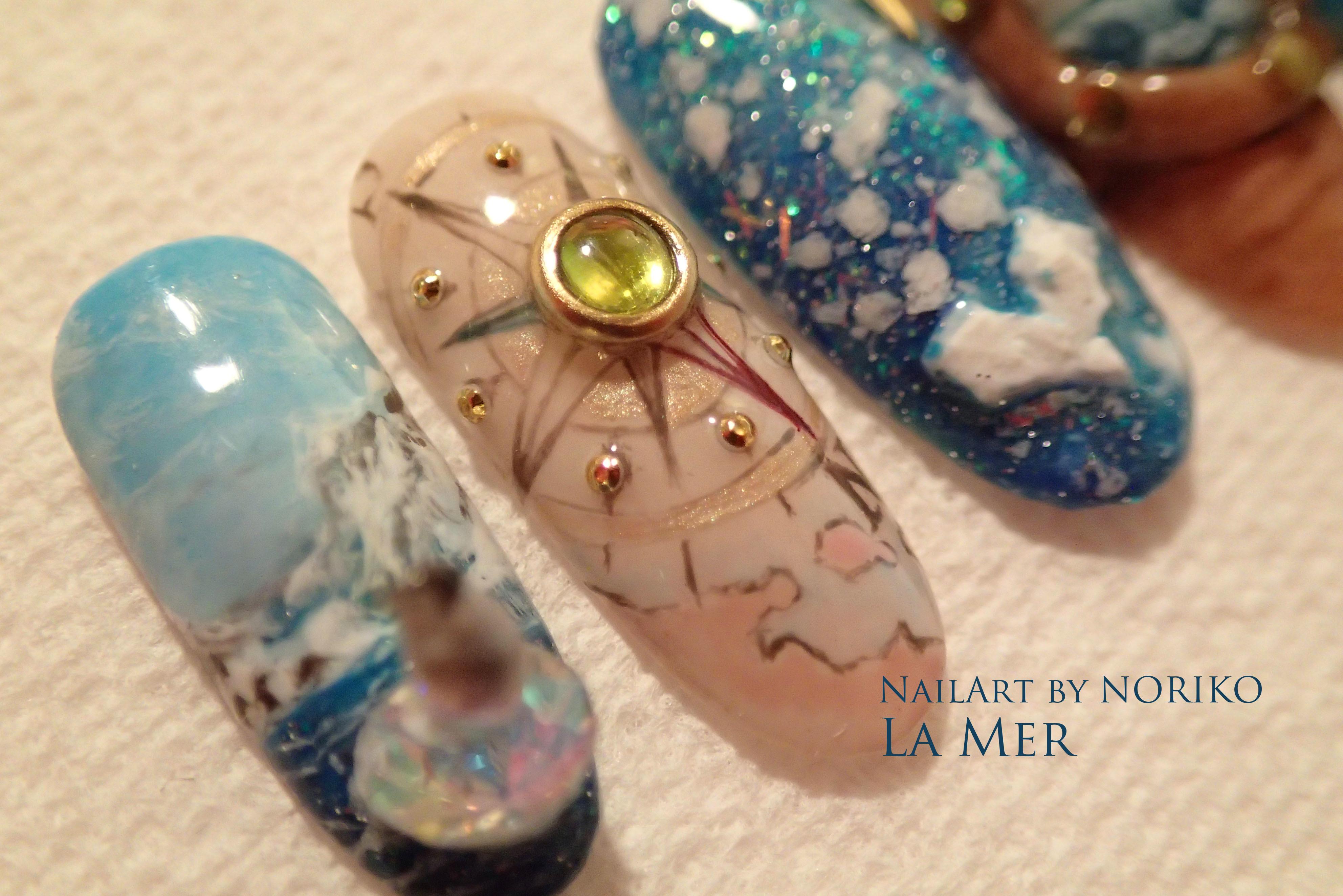 Pregel Award_16 第11回プリジェルアワード受賞アート Nail Artist : NORIKO/ 典子