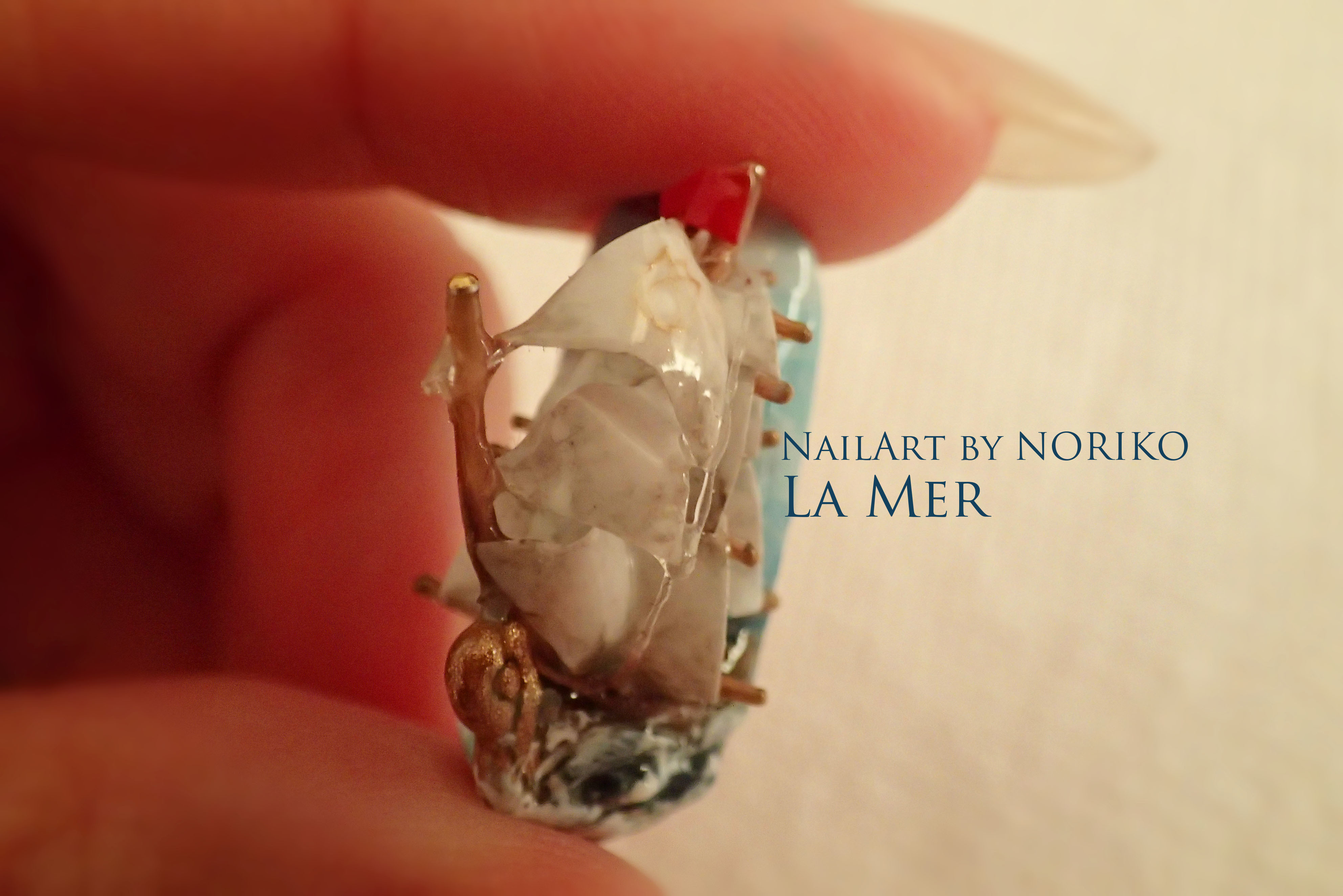 Pregel Award_25 第11回プリジェルアワード受賞アート Nail Artist : NORIKO/ 典子