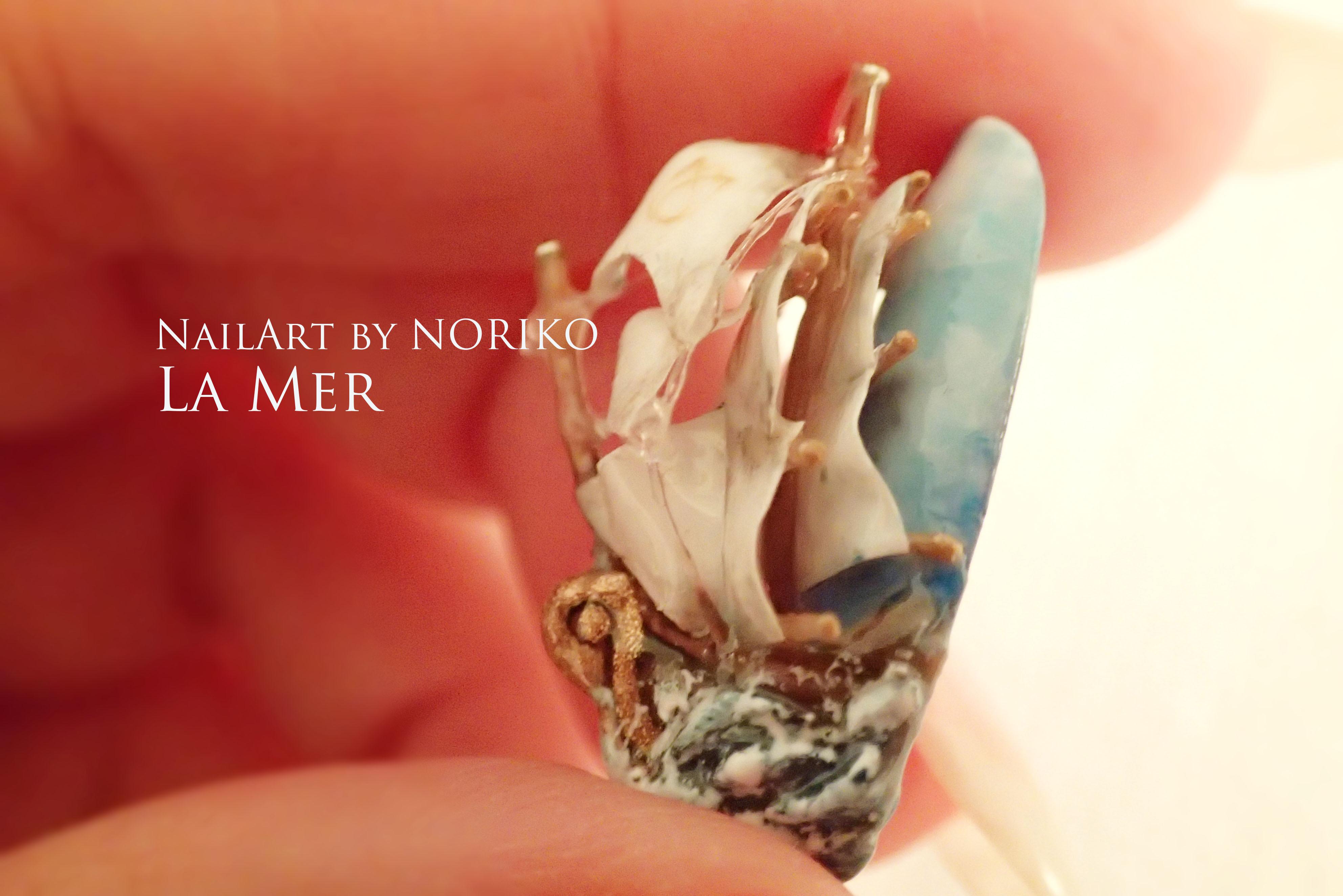 Pregel Award_24 第11回プリジェルアワード受賞アート Nail Artist : NORIKO/ 典子