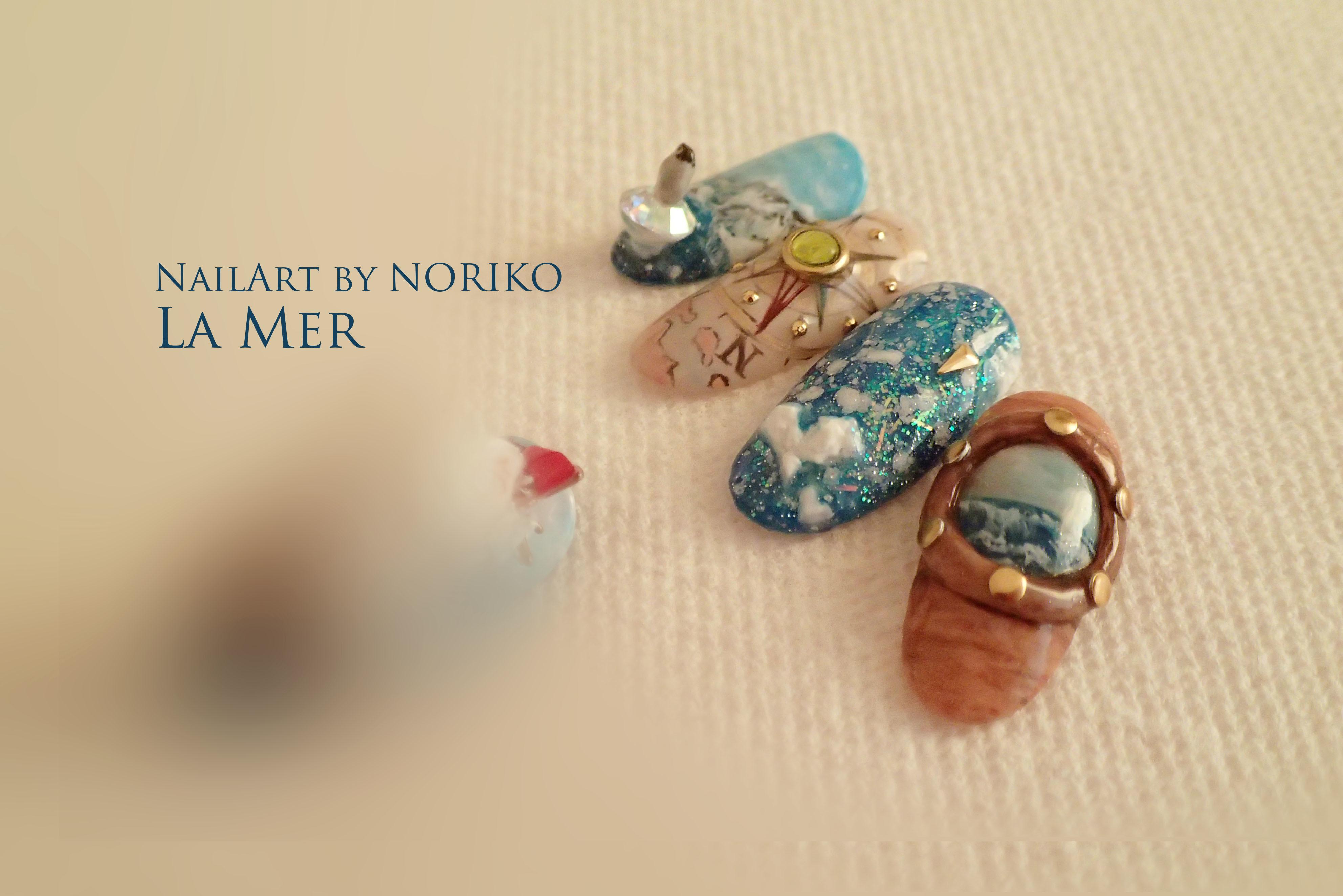 Pregel Award_22 第11回プリジェルアワード受賞アート Nail Artist : NORIKO/ 典子