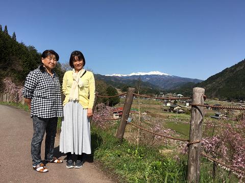 1185-母と妻と乗鞍岳