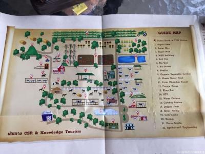 チョクチャイ牧場ガイドマップ