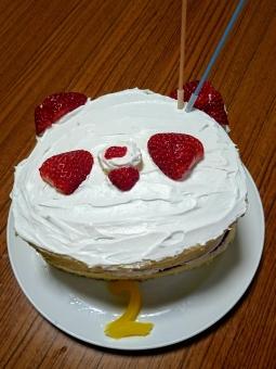 おばぶバースデーケーキ