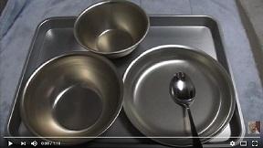 昭和の給食食器