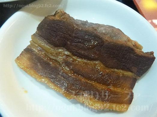 四川麻婆豆腐定食の角煮012