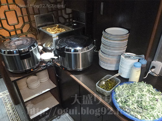 川味坊の食べ放題コーナー013