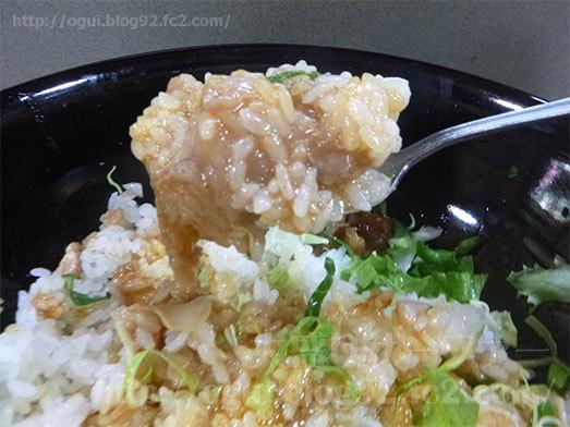 けやき丼に生卵をトッピング055
