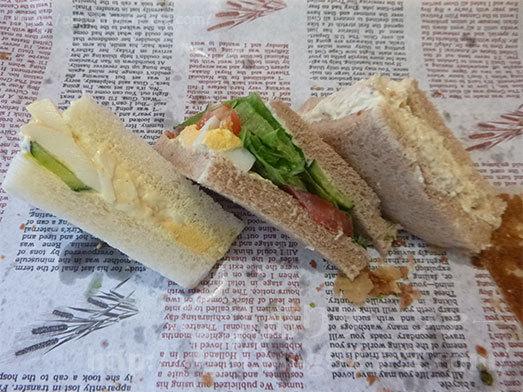 パン食べ放題のサンドイッチ021