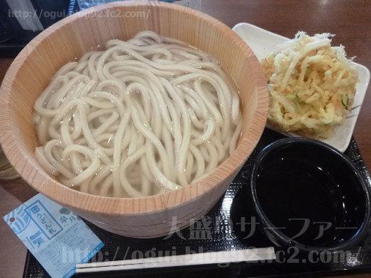 丸亀製麺の釜揚げうどん009