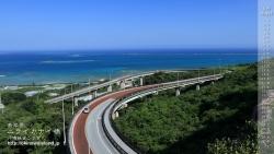 ニライカナイ橋,壁紙,デスクトップカレンダー,沖縄