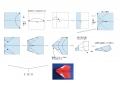 折り紙のヨートビ―型