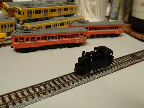 走りの悪かったワールド工芸のB20形蒸気機関車を整備しました。