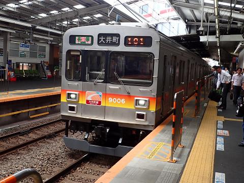 かつての東横線のエース、9000系です。