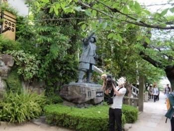 三光神社 真田像