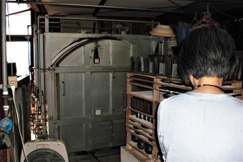 信楽 工房 窯2