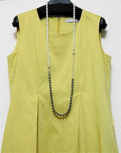 黄色ワンピ2