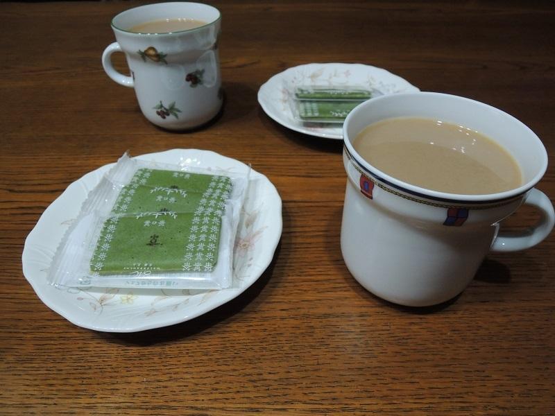 茶の果と珈琲