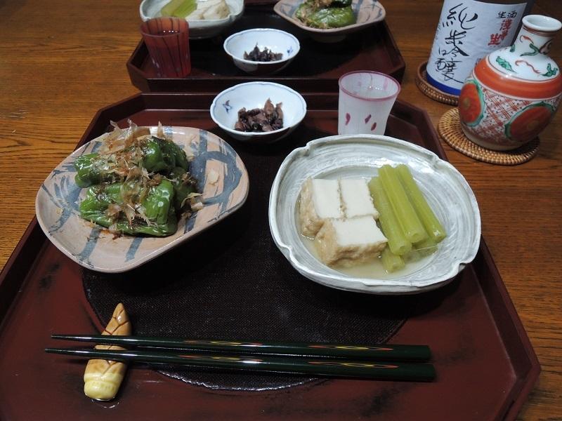 今日の晩ご飯