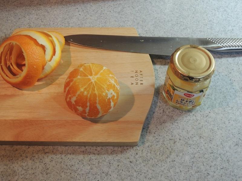オレンジとレモンバター