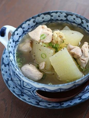 冬瓜と鶏肉のスープ煮2