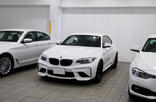 BMW M2コーティング後