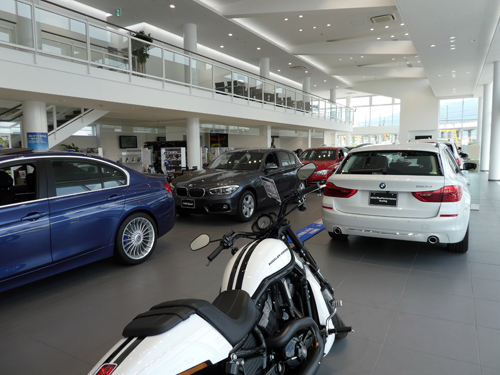 BMW fukuyama showroomkai