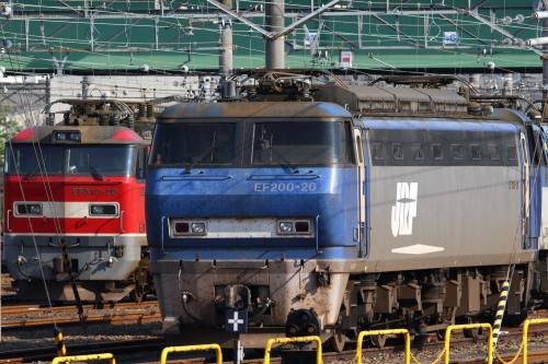 EF200-20&EF510-20 稲沢駅