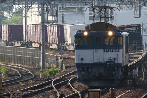 EF64 1015牽引・2070レ 枇杷島駅