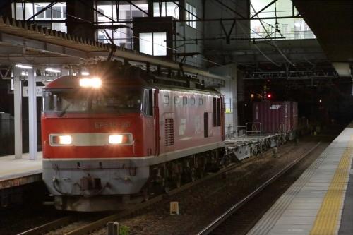 EF510-20牽引・1253レ 枇杷島駅