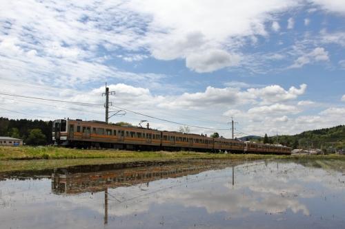 中央西線快速列車 恵那-武並間