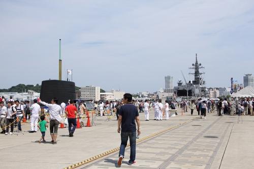 護衛艦「いかづち」+潜水艦「ずいりゅう」